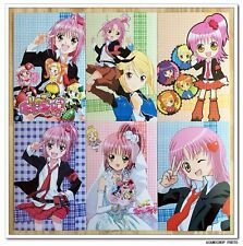 Shugo Chara Manga Anime Lot de 6 Cartes Postal III Amu Hinamori  しゅごキャラ!