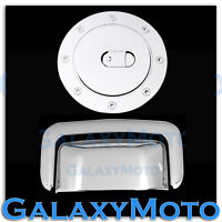 00-06 GMC Yukon+XL Triple Chrome Plated Tailgate Liftgate handle+Gas Cover SUV