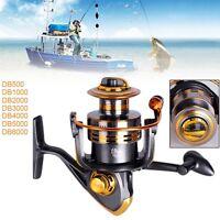 Ball Bearing6BB Saltwater/Freshwater Metal Fishing Spinning Reel DB500-6000 Fine