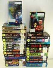 Lot of 29 Star Trek Pb Books Original Series, Next Gen, Deep Space