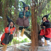 Halloween Hanging Animated Talking Witch Props Haunted House Terror Scary Props