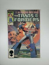 RARE The transformers marvel comic book  1984 vol 1 #1