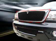 Black Billet Grille Front Grill 1PC Fits 2003 2004 2005 2006 Lincoln Aviator