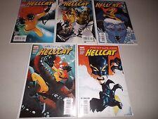 Patsy Walker HELLCAT (2008) #1-5  VF+  (1st print Complete Set)  Marvel Comics