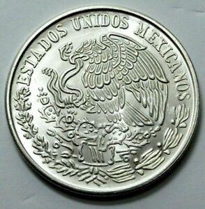 1978 UNC MEXICO CIEN 100 PESOS PLATA PURA LEY .720 SILVER Large Coin UNGRADED,NR