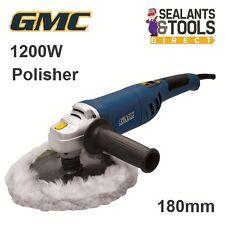 GMC Rotary Orbital Sander Buffer Polisher Machine Car 180mm 1200W 2 yr Guarantee