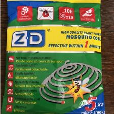 Outdoor Mosquito Repellent Coils Incense Spirals Insect Bug Killer 10/20/40 Roll