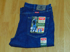 Wrangler Midnight Rinse Denim 36x29 Regular Fit Jean Men's New With Tags