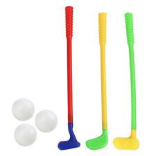 Children's Golf Set Plastic Golf Clubs Balls Caddy Kids Toy Summer Garden Fun