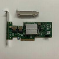 Dell PERC H200 6Gb PCI-e SAS SATA 8-Port Raid Controller =M1015 9211-8i 047MCV