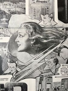 1937 Daily Sketch from Radiolympia - newspaper