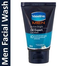 Vaseline Men Active Bright Oil Expert Gel Facial Wash 50g