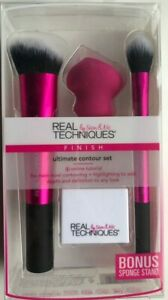 Real Techniques Ultimate Contour Set make up Brush set BRAND NEW