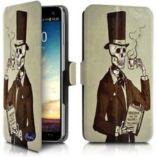 Etui Porte-Carte Support Universel L Motif KJ19 pour Samsung Galaxy Note 8