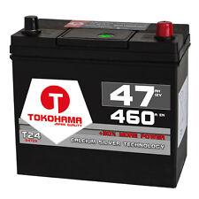 TOKOHAMA Asia Autobatterie 12V 47Ah 460A/EN Hohe STARTKRAFT +Pluspol rechts 45Ah