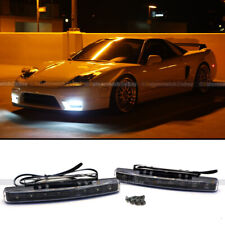 Black Housing 2x 8 LED Daytime Running Lights Car Driving DRL Fog Lamp Light