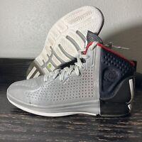 Adidas Rose 4 Neon Iron Metallic/Light Scarlet-Black Size 9.5