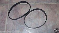 2 Vacuum Belts fit Shark Infinity  NV28 NV29 NV32 NV33  1102FP