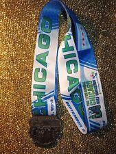 Chicago Marathon Halb 2013 Rennen Laufen Finisher Medaille