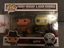 Freddy Krueger & Jason Voorhees Funko Pop Vinyl Two-Pack Bloody (Rare, Vaulted)