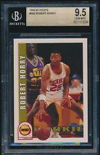1992-93 Hoops rookie #392 Robert Horry rc BGS 9.5