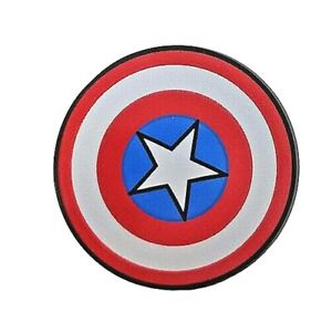 NEW LEGO - Shield - Round Captain America Dark Bluish Gray x 1 - 76123 76143