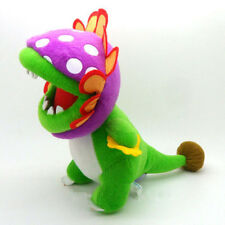 "New Super Mario Bros. Plush Doll Stuffed Toy Dino Piranha xMas Gift 9"" US ship"