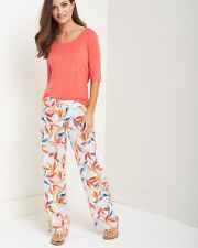 TOMMY BAHAMA Ladies Linen  PALMS OF PARADISE Pant  Size 14  NWT $118