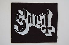 "Ghost Cloth Patch Sew On Badge Rock Metal In Solitude Approx 4""X4"" (CP231)"