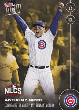 2016 Topps NOW BON-6 Anthony Rizzo Chicago Cubs NLSD Oct 22 Bonus Card RARE SP