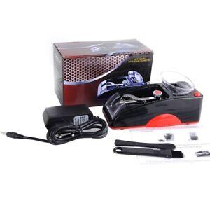 Mini Electric Auto Cigarette Rolling Machine Portable Tobacco Injector EU Plug