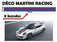 "Le Mans Martini Racing style Stripe ""universel*"" Sticker bandes (9 bandes)"