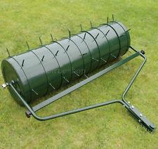 Gartenwalze Anhänge 102cm Walze Rasenwalze Rasenlüfter Handwalze aus Metall