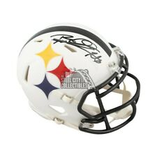 Rod Woodson Autographed Pittsburgh Steelers AMP Mini Football Helmet - BAS COA