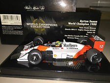 SENNA WORLD CHAMPIONS COLLECTION 1988 FULL LIVERY CONVERSION MINICHAMPS 1:43 NEW