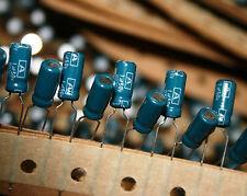 1uF 50v radial condensateur électrolytique 1MF cap Qté: 50