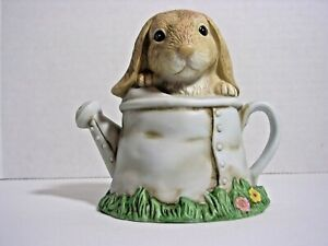 1999 Home Interiors Easter Bunny Buddies Figurine 14062-99