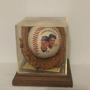 Cal Ripken Jr. and Lou Gehrig Commemorative Baseball 2130 games