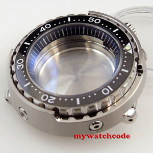 47mm Solid 316L Steel sapphire glass Watch Case fit for NH35 SBBN031 SKX007