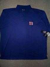 ($60) New York NY Giants nfl Polo Jersey Shirt Adult MENS/MEN'S (6XL-XXXXXXL-6X)