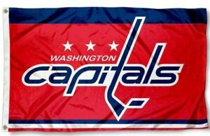 Washington Capitals NHL Flag ~ Large 3'X5' Banner ~ Free Shipping