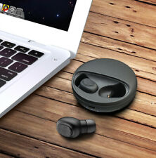 Bluetooth Headset Wireless Earbuds Earphones Black Headphones For LG Cell Phones