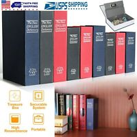 Dictionary Diversion Book Safe Secret Stash Booksafe w/3-Digit Combination Lock
