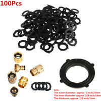 100x Shower Hose Washers Rubber O-Ring Seals Tabs for 3/4 Inch Water Faucet Part