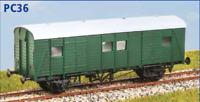 Southern Railway (ex SECR) PMV Parcels Van - OO -Parkside PC36- free post