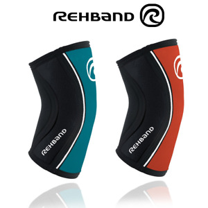 Rehband RX Elbow Support Sleeve (5mm) Tick Crossfit Weightlifting Powerlifting