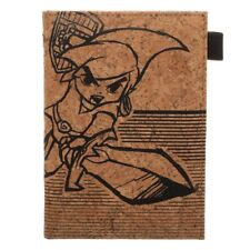 NINTENDO THE LEGEND OF ZELDA PASSPORT BOOKLET TRAVEL VERTICAL WALLET COVER CORK