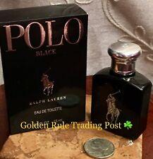 POLO BLACK by RALPH LAUREN COLOGNE EDT Men🔶15mL TRAVEL SIZE MINI🔶NEW in Box