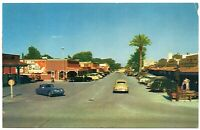 Scottsdale Arizona Postcard Street View Store Fronts Lulu Belle Restaurant#76814