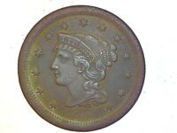 1854 Large Cent Very Nice Coin foe Collection 819
